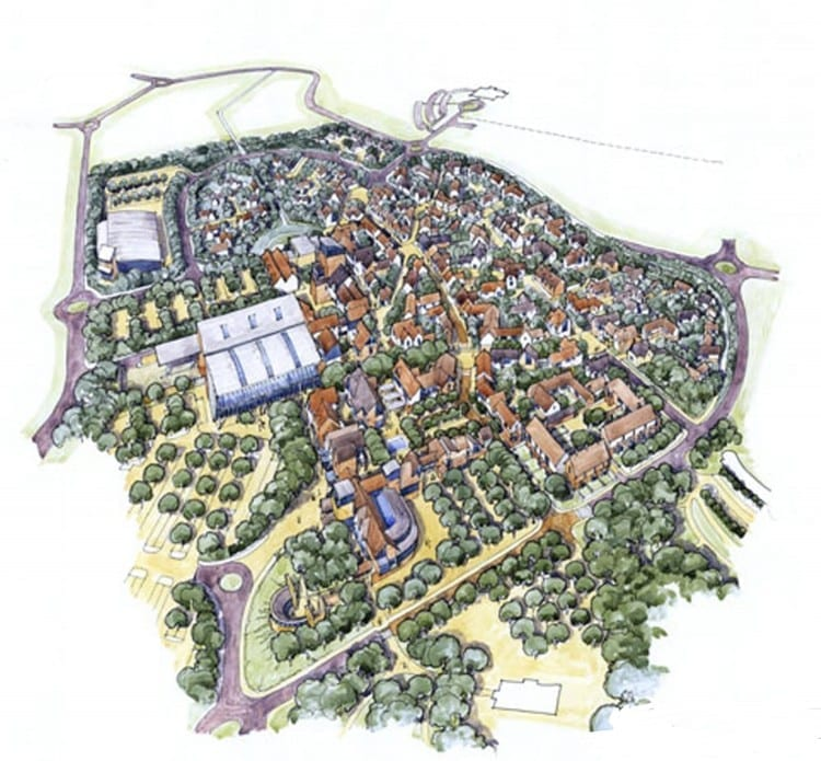 Kings Hill Map